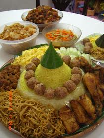 Resep Keluarga Cinta Tumpeng Nasi Kuning Ulang Tahun Untuk My Beloved Husband