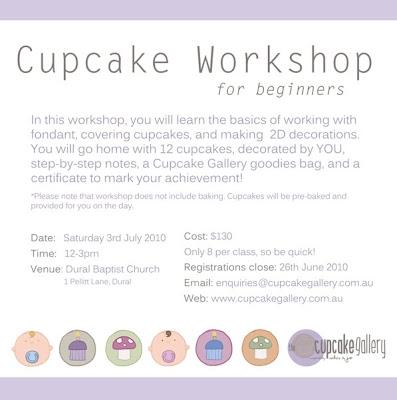 The Cupcake Gallery Blog Cupcake Workshop