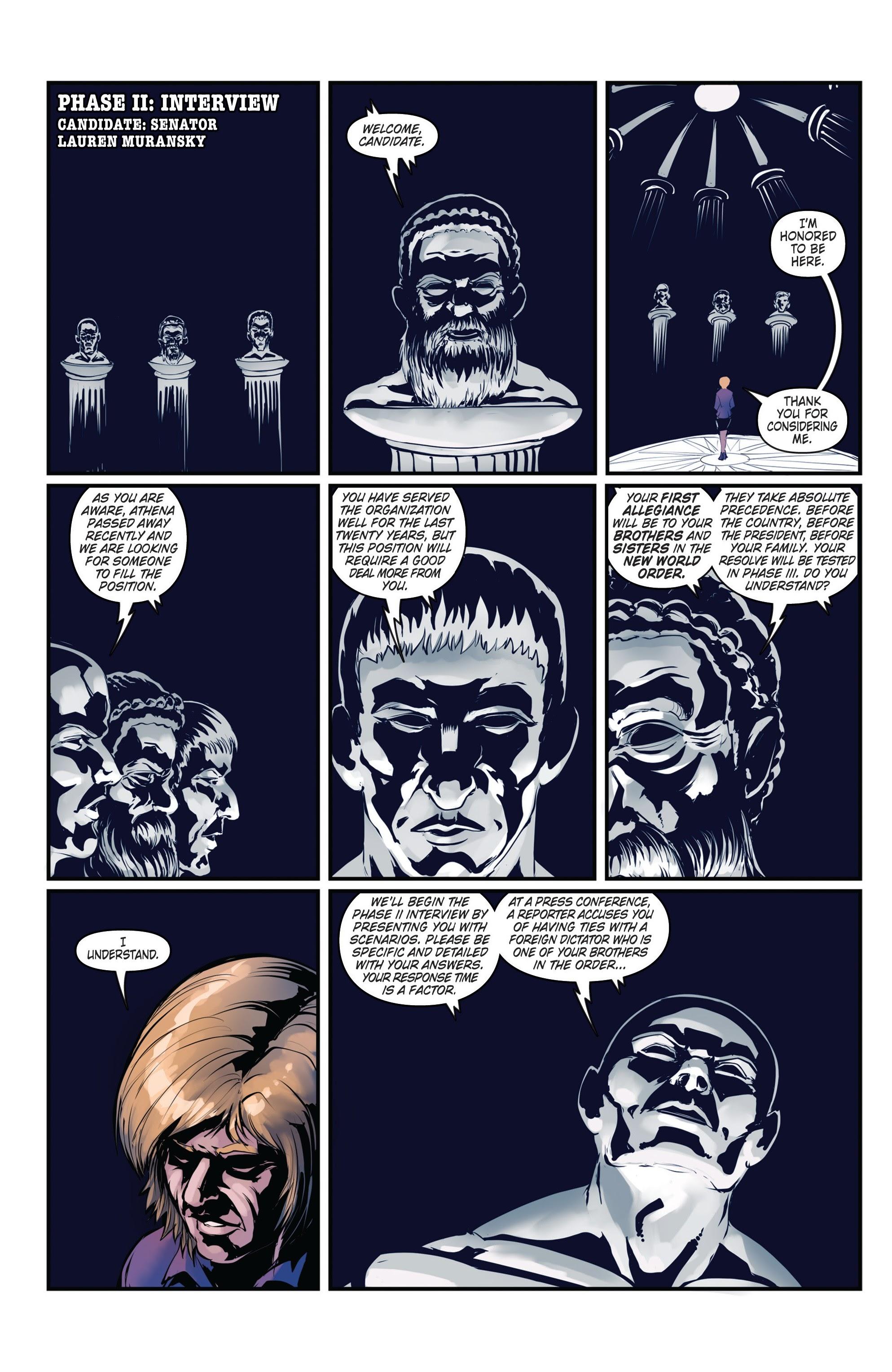 Conspiracy #3 #3 - English 19