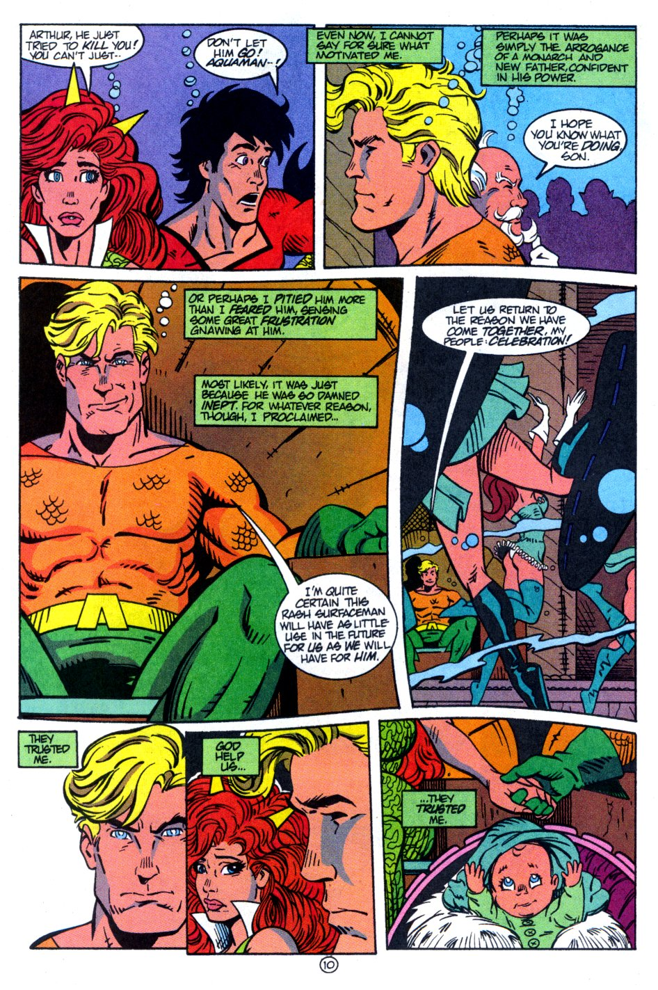 Read online Aquaman: Time and Tide comic -  Issue #4 - 11