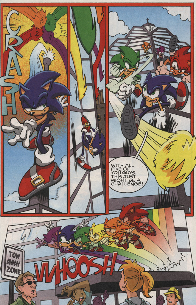 Read online Sonic X comic -  Issue #25 - 11