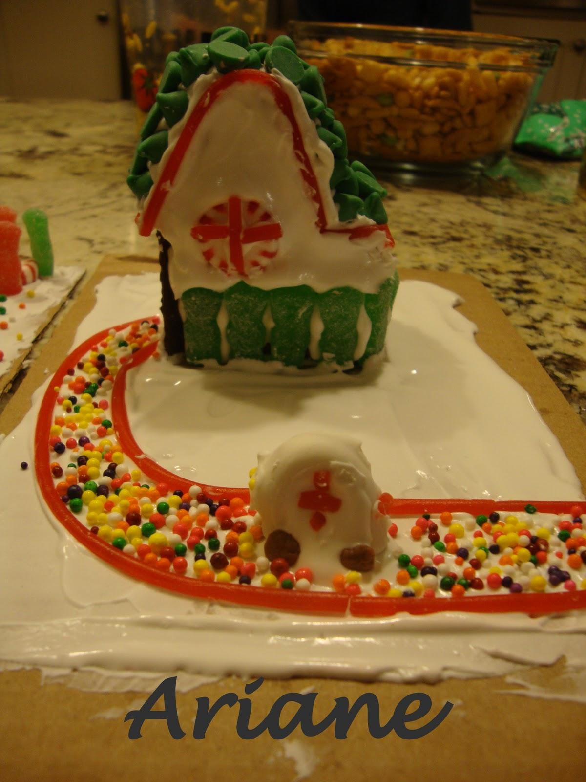 The Whole Enchelleada Gingerbread Village