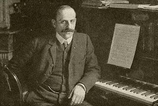 Charles Grelinger in 1907 in zijn studeervertrek