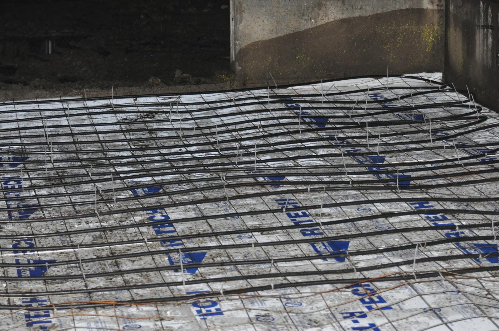 Meat Barn Construction Complicated Slab Solar Radiant