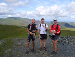 On the Lake District Fells with Brian Mac and John Millen