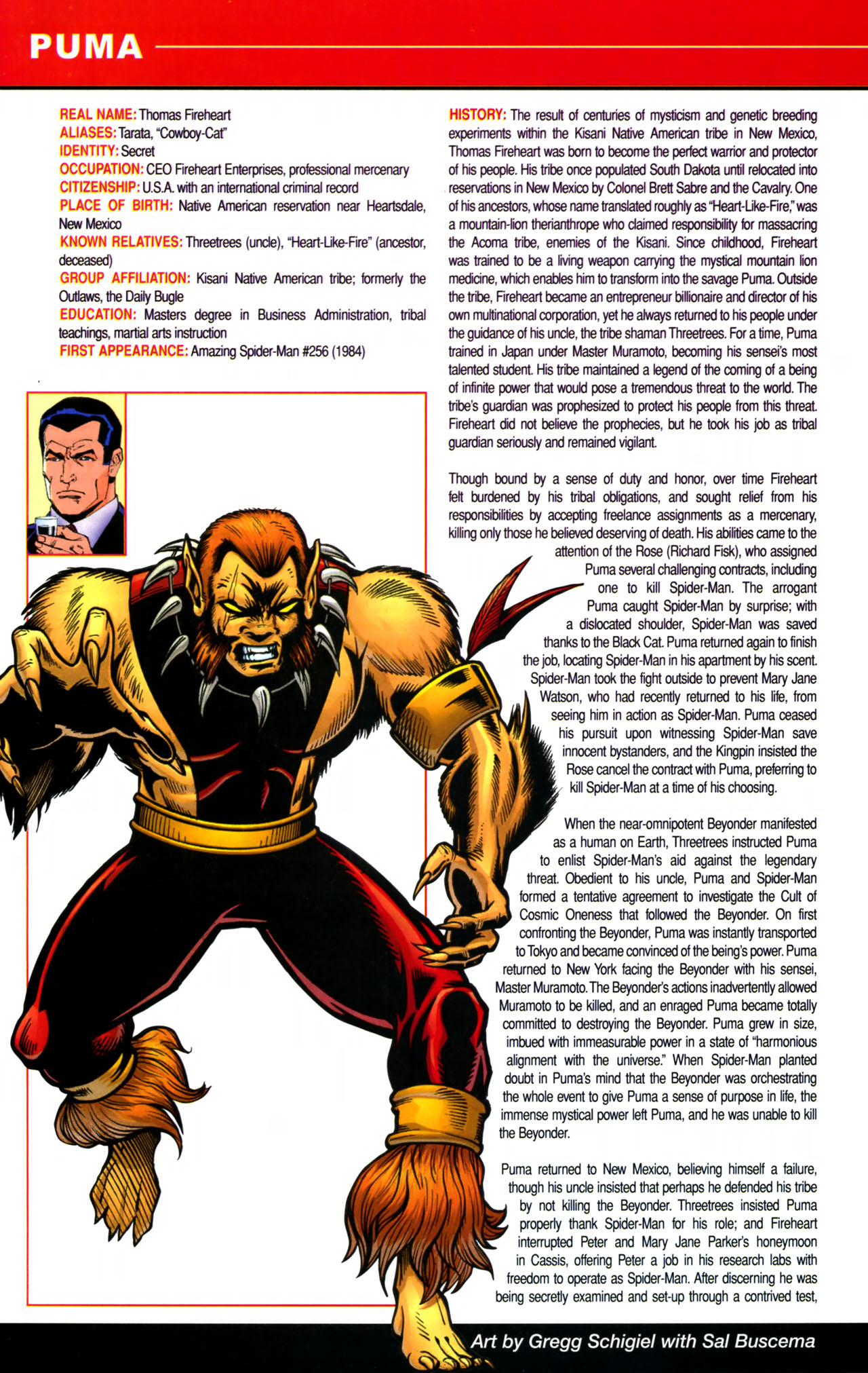 Read online All-New Official Handbook of the Marvel Universe A to Z comic -  Issue #8 - 64