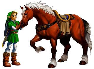 Link and Epona - nintendo.com