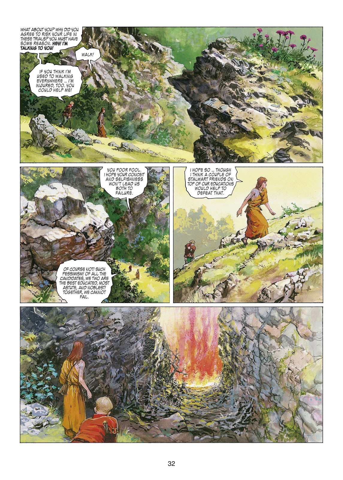 Read online Thorgal comic -  Issue #22 - 34