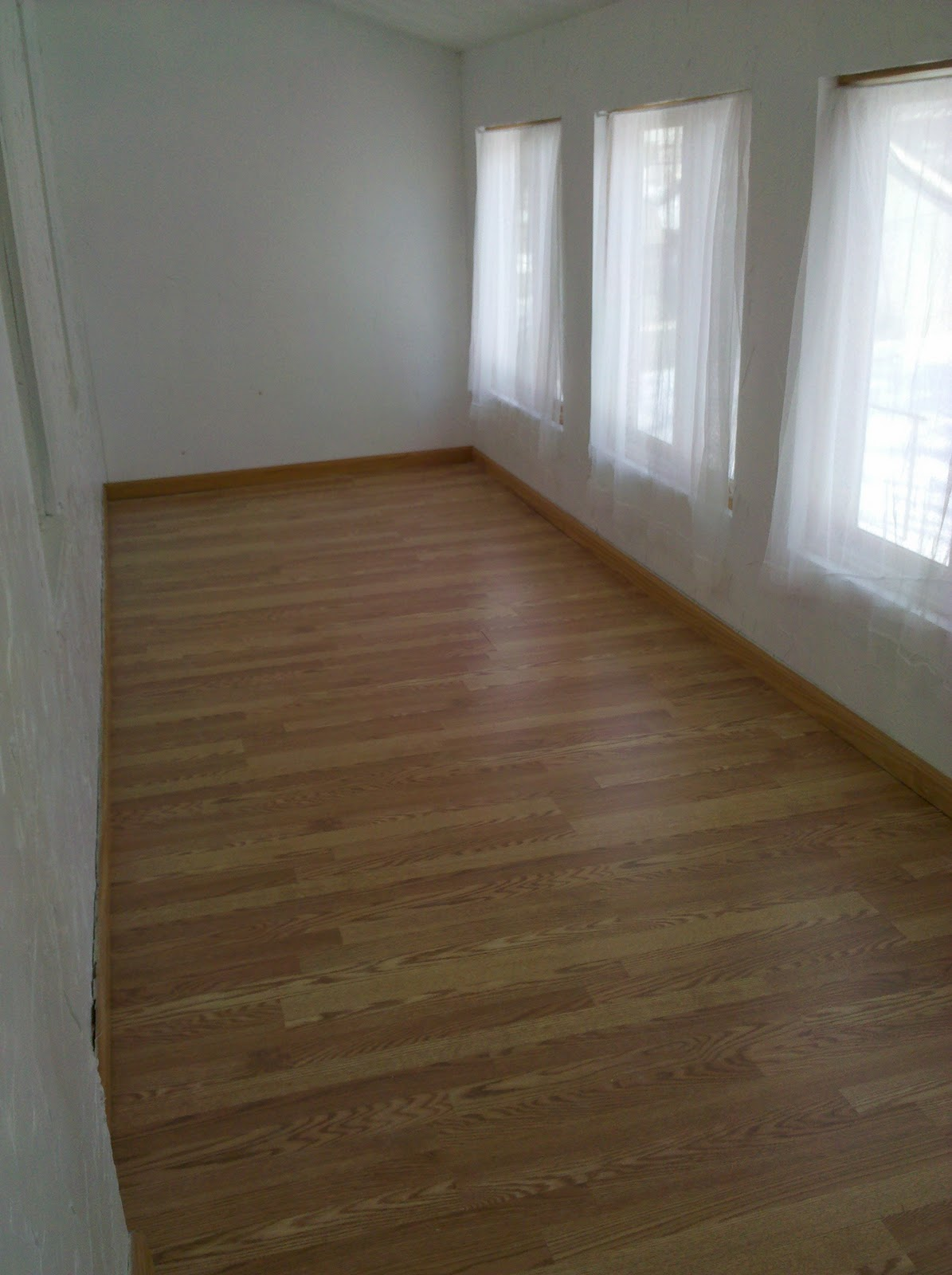 Hammers And High Heels Spare Room Flooring Is Done Diy