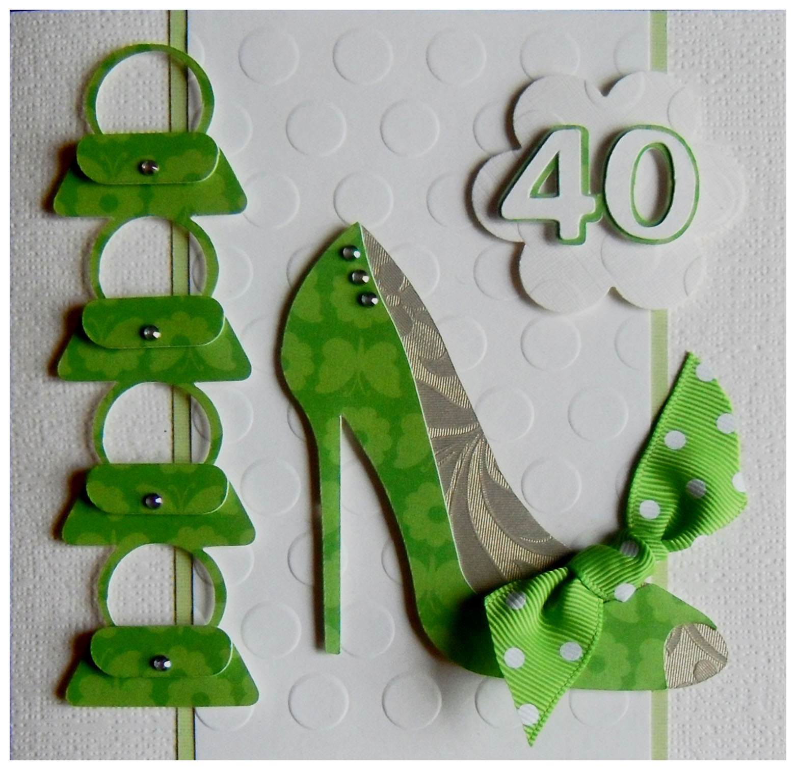 Claire's Cards: **************** 40th Birthday Card For A