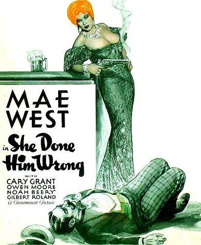 Мэй Уэст- мировая звезда и первый секс-символ Америки. .