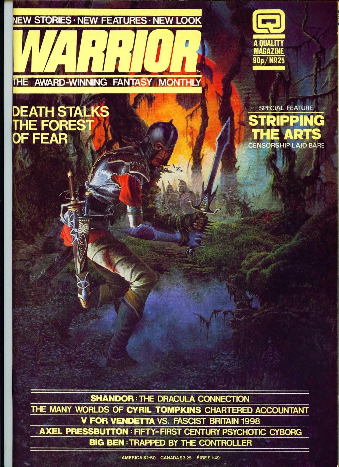 Warrior Issue #25 #26 - English 1