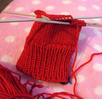 Sock Knitting Practice