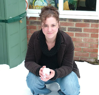 Me In The Snowy Garden
