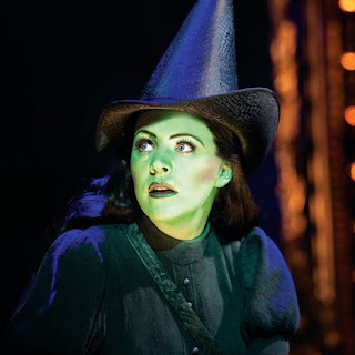 Rachel Tucker as Elphaba in 'Wicked'
