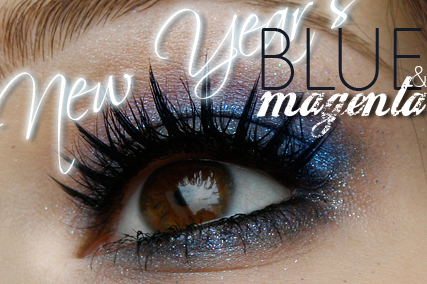 Alina Rose Blog Kosmetyczny Makijaż Na Sylwestra Granat Dla
