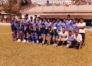 0d3a05109 Equipe infantil do Vespasiano Esporte Clube . Sua formação    Mateus