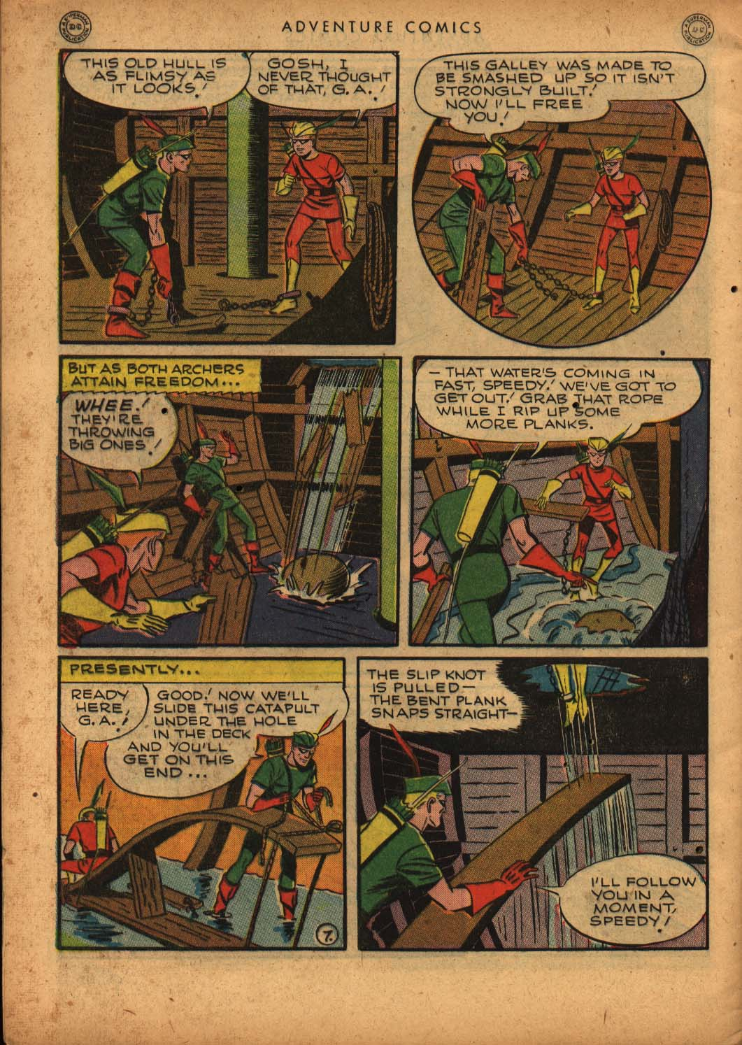 Read online Adventure Comics (1938) comic -  Issue #109 - 48