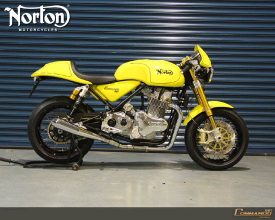 New Sport Bike: Norton Commando 961 Cafe Racer 2010 Bike