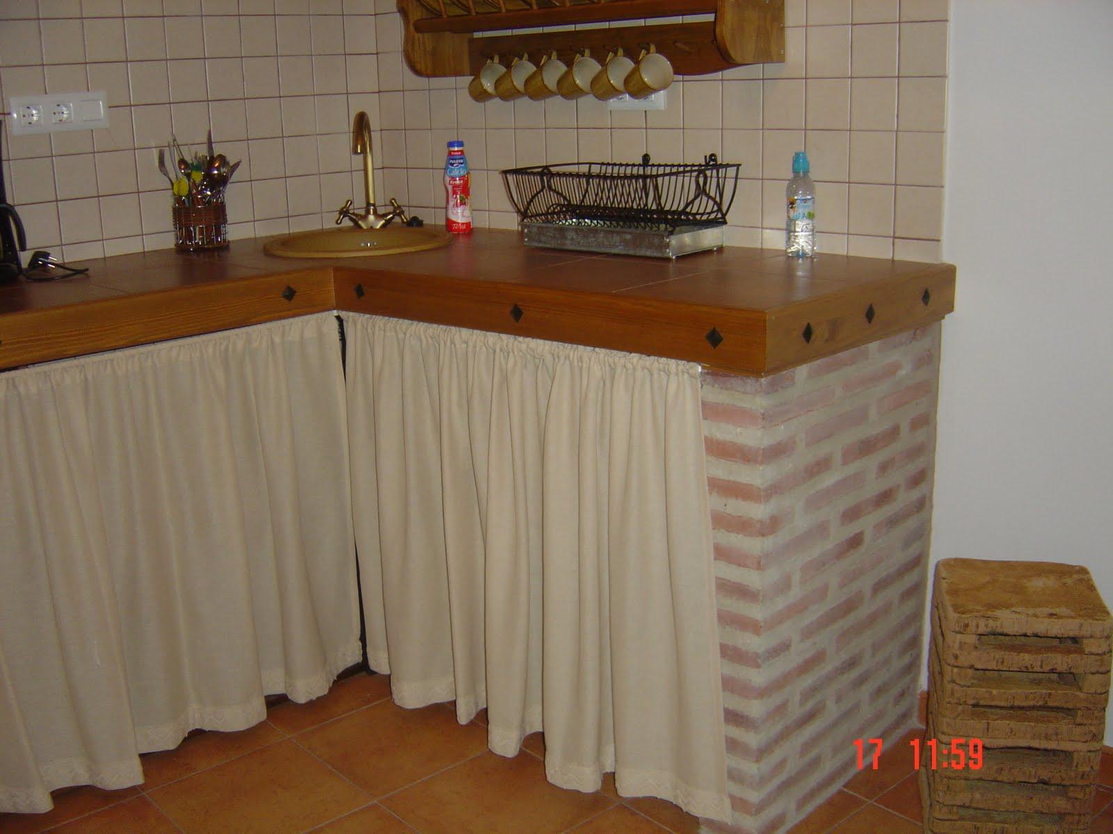 Cortinas De Cocinas Rusticas Interesting Tela Semi Sombra Rstica
