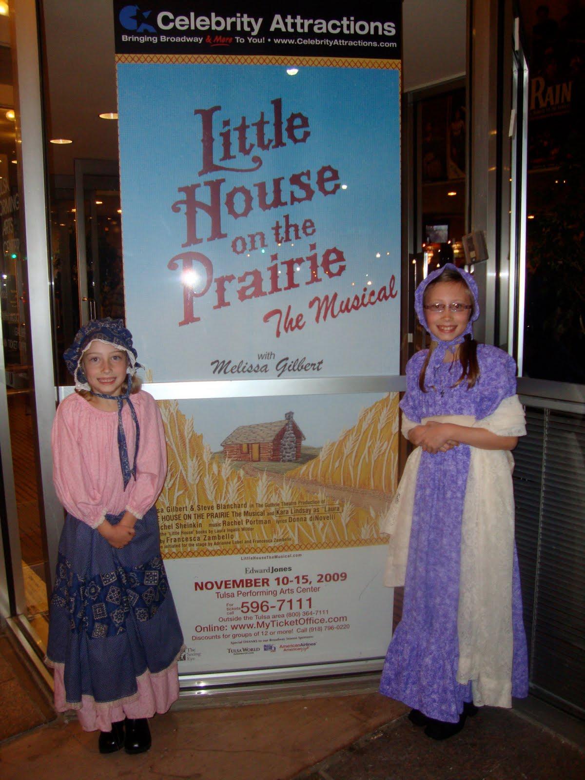 Mom Of 2 Girly Girlz Little House On The Prairie Musical