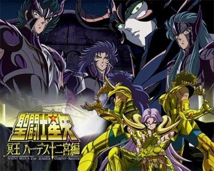 cavaleiros do zodiaco ovas