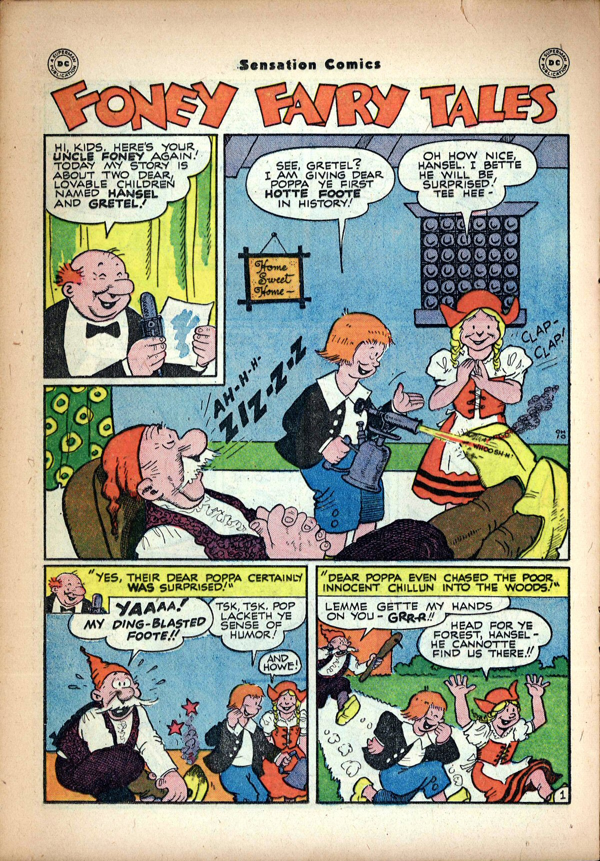 Read online Sensation (Mystery) Comics comic -  Issue #62 - 30