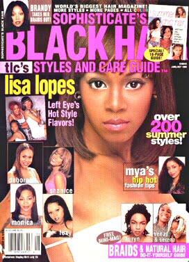 Black Hair Magazine Pictures