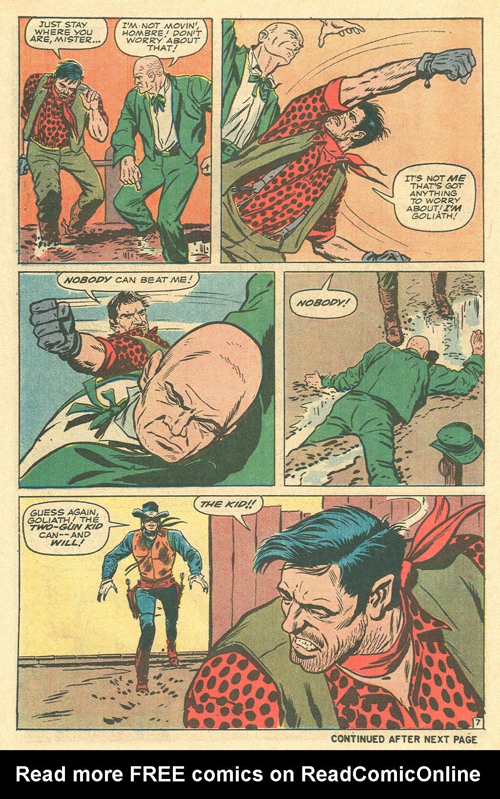 Read online Two-Gun Kid comic -  Issue #105 - 10