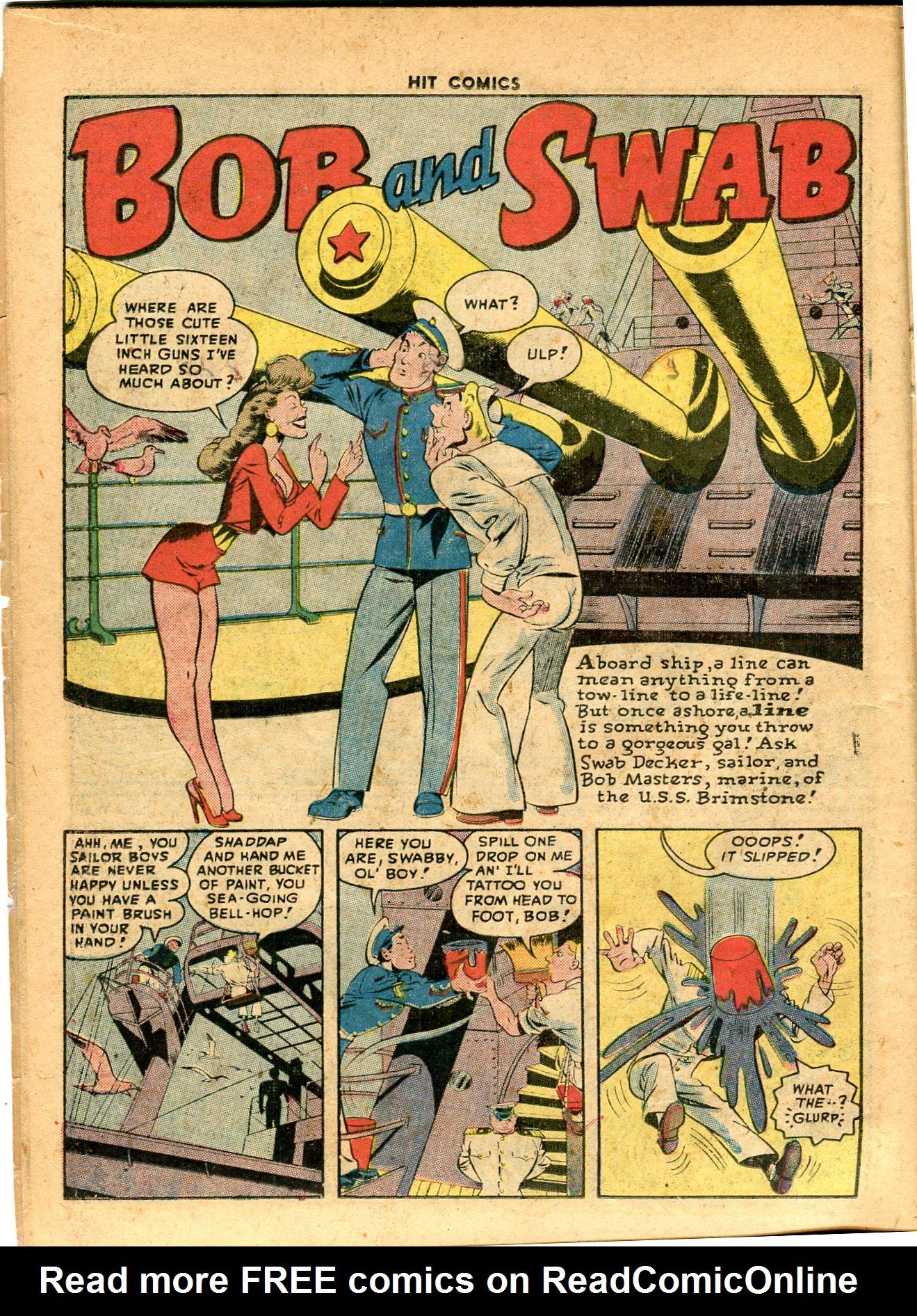 Read online Hit Comics comic -  Issue #49 - 16