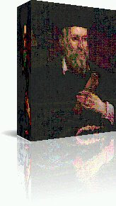 Artwork of Painting of Nostradamus in 3D