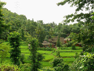 Calm and Peaceful Indian Village