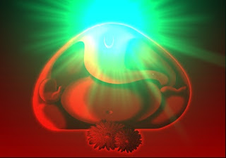 3D Image Ganesha Aarti Sunlight