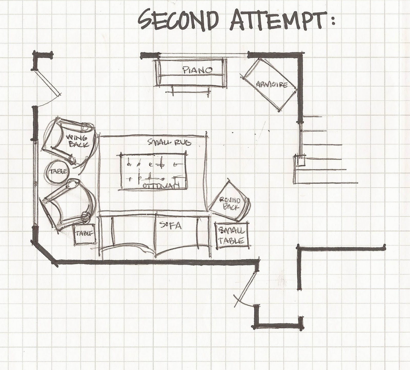 layout my living room furniture blinds or curtains remodelaholic part 3 experimenting with layouts