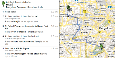 Google Lat Long: Finding your way in India with landmarks on