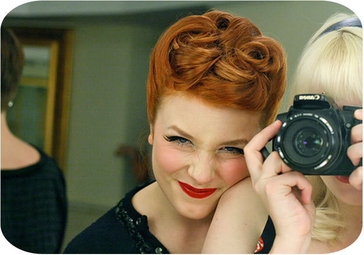 Dingaling Vintage----------->: Party Hair