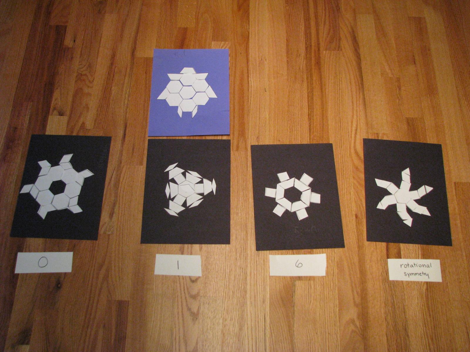 Love2learn2day Snowflake Symmetry Geometry Class 2 Part