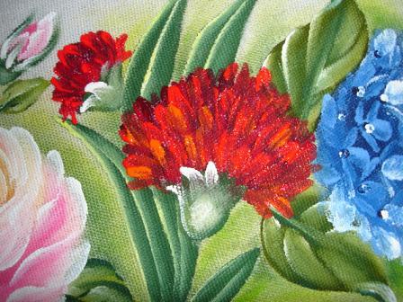 pintura em tecido cravo passo a passo como fazer