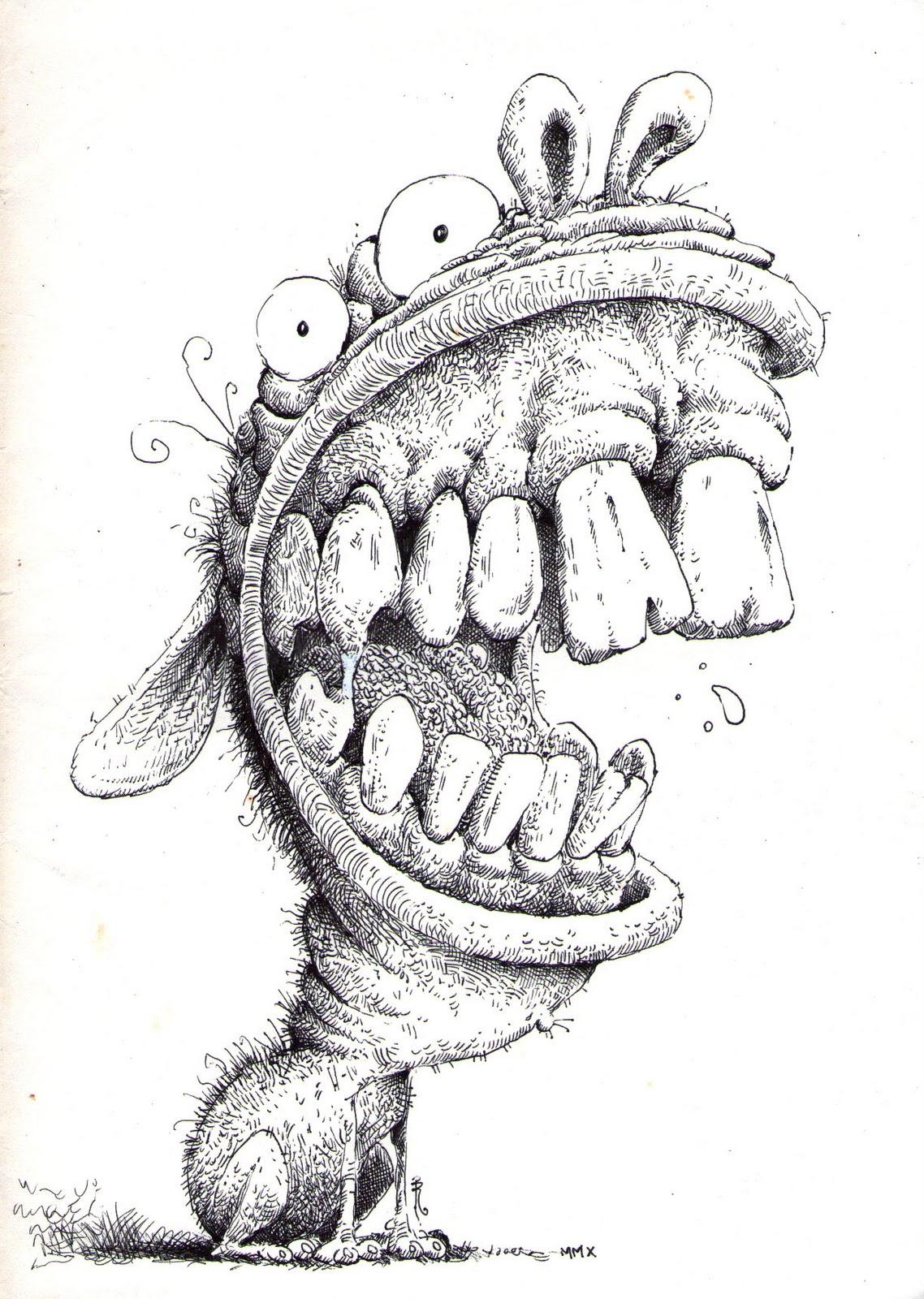 Redlich Sketchbook Teeth Amp Gums Part Ii