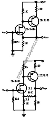 Free Project Circuit Diagram: High Impedance Low