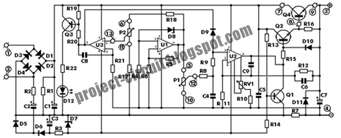 Free Project Circuit Diagram: Stabilizer Circuit