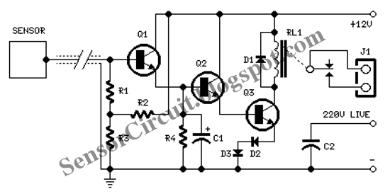spdt relay tutorial auto electrical wiring diagramsensor schematic february 2011
