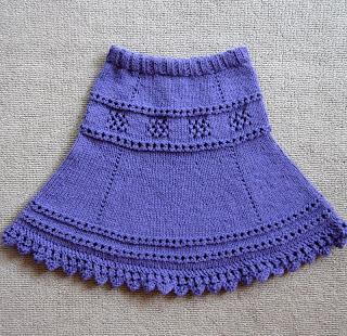 Описание: схема вязаные юбки для девочек спицами.