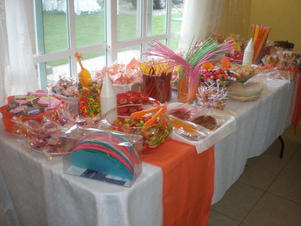 cherry pop Mesa de dulces