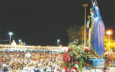 Blog da Sagrada Família: ROMARIA DE NOSSA SENHORA DAS DORES TEM INÍCIO