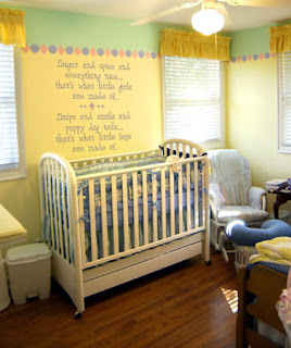 Yummy Raw Kitchen Nursery Decorating Ideas
