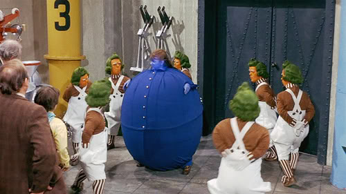 whining blueberry girl from Willie Wonka