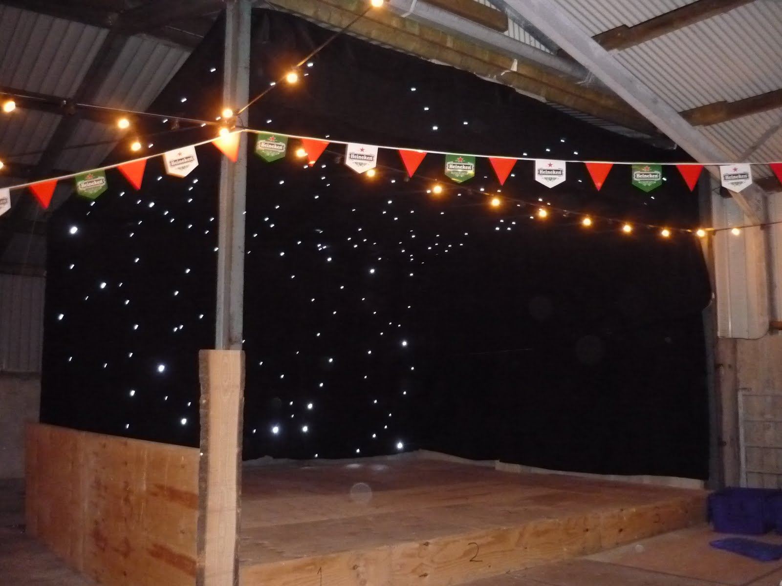 Carnival Marquee Hire: Charity Barn Dance