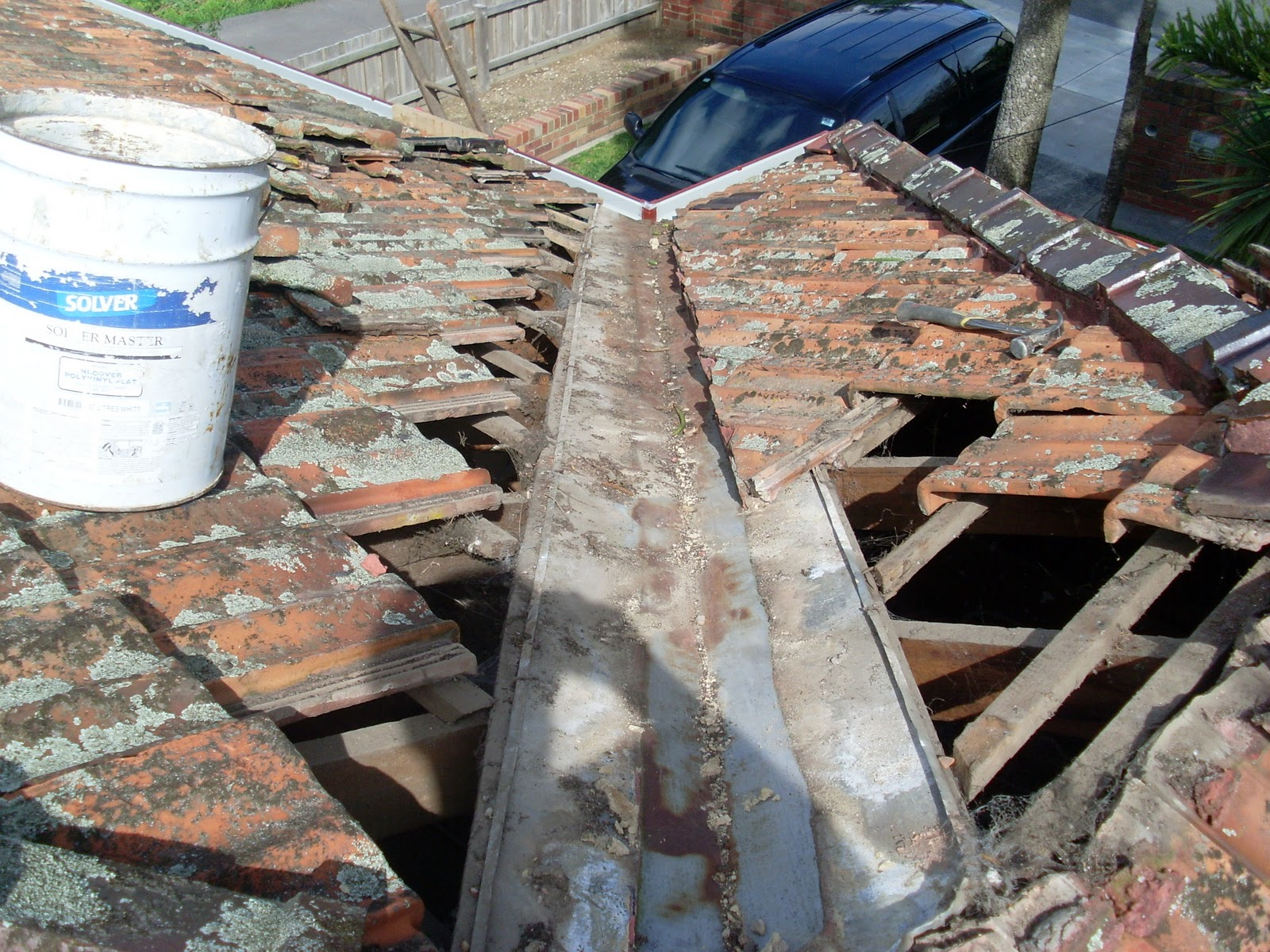 Waynes Home Renos Diy Roof Work Valley Iron Replacement
