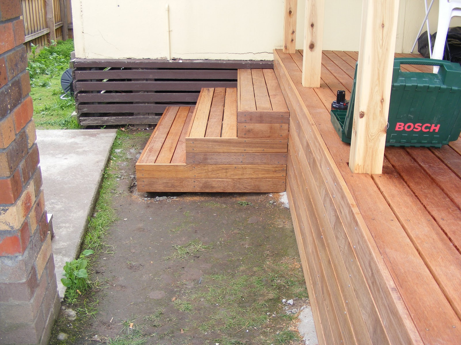 Waynes Home Renos Diy Building Deck Part 3 Stairs | Making Steps For Decking